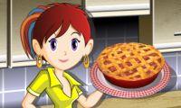 Tarta de ruibarbo: Cocina con Sara