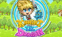 Knight and Lil Dragon: Medieval Game