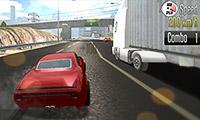 Corsa in autostrada 3D