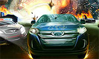 Hot Pursuit City: Cop Car Game