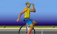 100 mètres en monocycle