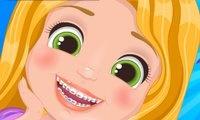 Rapunzel com Dor de Dente