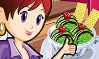 Grüntee-Eiscreme: Saras Kochunterricht