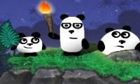 Drie panda's 2: 's nachts