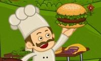 Hamburgers schoppen