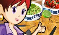 Nacho's met dipsaus: Sara's kookcursus