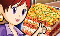 Lasagne: Saras Kochunterricht