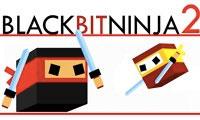 Ninja negro retro