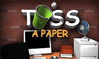 Бросание бумаги