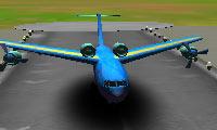 Vliegtuig parkeren 3D