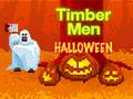 Leñador de Halloween