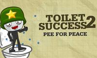 Klo-Erfolg 2: Pinkeln für den Frieden