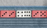 Grijze domino