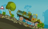 Ciężarówka z kukiełkami