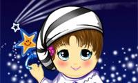 Одень звездную малышку