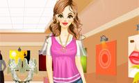 Одевалка: Катя в картинной галерее