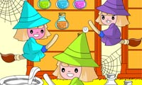 Rosy Coloring: Witch Hideout