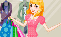 Sparkly Shopping Dress Up