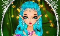 Одень эльфийскую красавицу