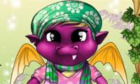 Viste al bebé dragón