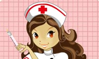 Krankenschwester anziehen