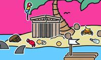 Crea paisajes: Isla desierta
