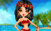 Hawaiian Girl Dress-Up