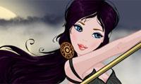 Habille une princesse gothique