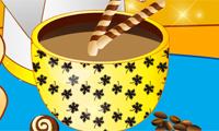 Dekorera kaffekopp