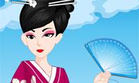 Кимоно для гейши