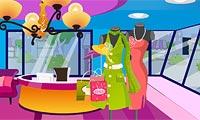 Décore un magasin de vêtements