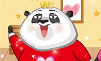 Lindo Panda De Vestir