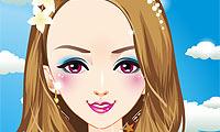 Makijaż: Deszczowa Księżniczka