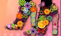 Zapatos de tacón a la moda
