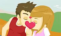 Beijo no Piquenique