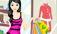 Fashion Girl Shopping