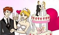 Bruidstaart inkleuren