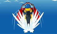 Гоночный катер Лего