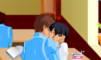 Kyssar i klassrummet