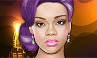 Maquiagem com a Rihanna