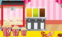 La bancarella del popcorn