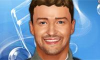 Habillage de Justin Timberlake