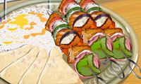 Lekcje gotowania z Sarą: Kebab