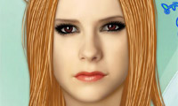 Avril Lavigne Make-Up