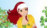 Jogging Girl Dress-Up