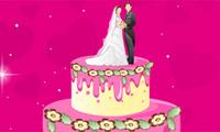 Décor de gâteau de mariage