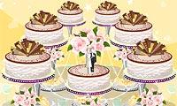 Design de gâteau de mariage