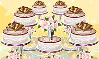 Bolos de casamento apaixonantes