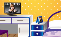 Chambre de fan de Justin Bieber