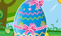 Décoration de l'œuf de Pâques